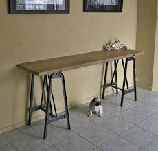 diy industrial sofa table furniture  design ideas  decors