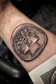 Tattoo Uploaded By Snooperstars Piece Of Grec Money 876029