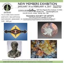 Pasadena Society of Artists : Exhibitions & News : Exhibitions : 2017 NEW  MEMBERS EXHIBITION
