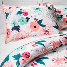 Floral Printed forter Set Xhilaration™ Tar