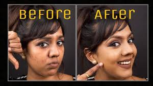 how to cover acne spots dark spots pigmentation discoloration my foundation routine