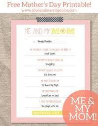 i love my mom because relationships school and craft mother s day printable me and my mom