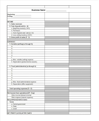 excel income statement spreadsheet spreadsheet templates restaurant pl income statement