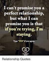 Quotes On Relationships Delectable I Can't Promise You A Perfect Relationship But What I Can Promise
