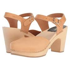 Swedish Hasbeens Covered Super High Women Shoes Pumps