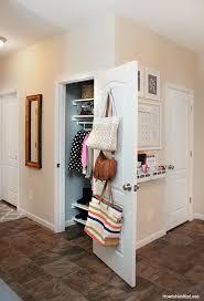 foyer coat closet organization