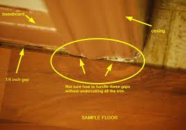 exelent how to lay laminate flooring around doors elaboration best
