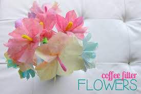 Paper Crafted Flowers 30 Flower Crafts For Kids