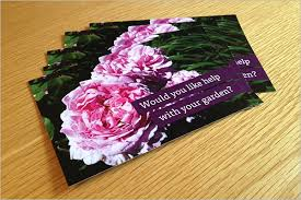Gardening Postcard Templates || Free & Premium Templates