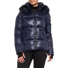 S13 Coat Size Chart S13 Nyc Kyle Down Puffer Jacket With Faux Fur Hood For