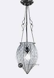 pozzo murano glass chandelier venetian lantern design