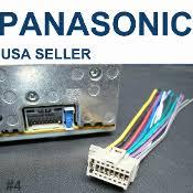 radio plugs panasonic 16 pin gray radio wire harness stereo power plug
