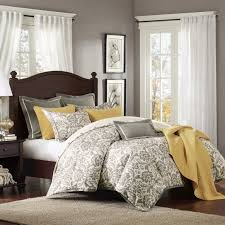 adorable gray and yellow bedroom ideas 12
