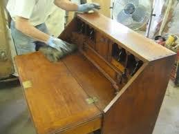 Restoring a Reproduction Desk Thomas Johnson Antique Furniture