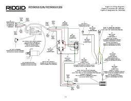ridgid generator wiring diagram ridgid image ridgid rd906812a rd906812b generator