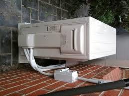 air conditioning fitting. air conditioning fitting a