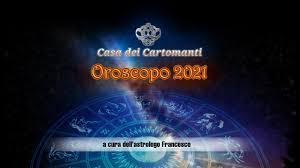 oroscopo scorpione 2021 - YouTube