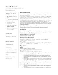 Resume Grant Writing Focus