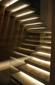 indoor stair lighting wall recessed best images on stairs penthouse in by  more lights