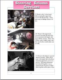steering column parts replacement how to instructions steering column repair instructions