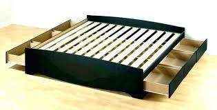 king storage bed plans. King Platform Bed Plans Storage Beds 4 Drawer Com .