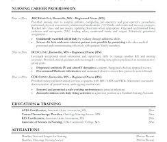 Sample Resumes In Word Resume Word New Grad Sample Registered Nurse