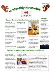 acorns nursery update oakmere feb newsletter
