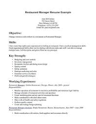 Restaurant Waiter Resumes Waiter Resume Template Free Example Sample Responsibilities