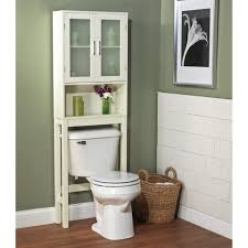 Wicker Bathroom Cabinet Bathroom Brilliant Over The Toilet Etagere For The Best Storage