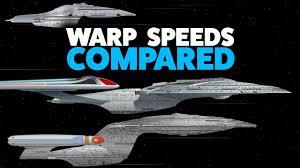 Warp Speed Chart Warp Speed Comparison