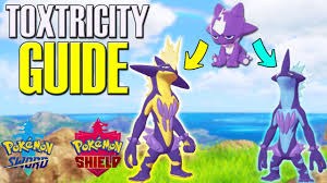Shiny Pokemon Evolution Chart How To Get Toxtricity Both Forms Pokemon Sword Shield Nature Chart Included