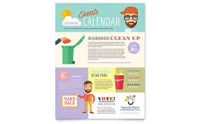 Volunteer Flyers Samples Non Profit Flyer Templates Design Examples