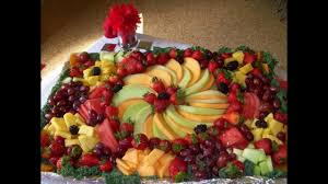 How To Decorate Fruit Tray Easy Fruit platter decoration ideas YouTube 2