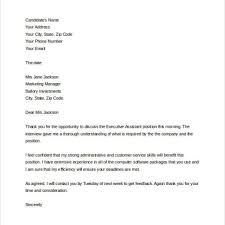 Thank You Letter Interview Teacher Cover Letter Templates