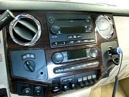 ford f 250 2008 audio video install