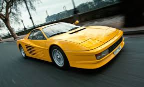 2018 ferrari testarossa. beautiful ferrari everyone loves twins two brazen yellow ferrari testarossas to go  auction at silverstone in 2018 ferrari testarossa
