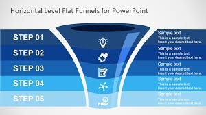 Powerpoint Funnel Chart Template Free Flat Funnel Powerpoint Template