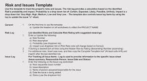 Issue Tracking Issue Log Templates Pdf Excel Word