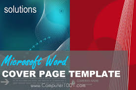 word cover page download download 17 template word untuk sampul laporan cover page