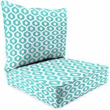 Jordan Manufacturing Outdoor Patio 2 Piece Deep Seat Chair Cushion