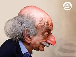 Image result for Walid Jumblatt CARTOON