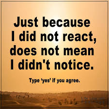 What Does Quote Mean 61 Amazing Inspiring Success Quotes Just Because I Did Not React Does Not