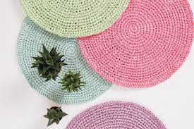 Free Crochet Placemat Patterns Inspiration Raffia Placemat Crochet Pattern Hobbycraft Blog