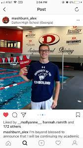 GHSA 6A State Champion Alex Mashburn to Swim for Cumberlands
