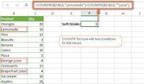 excel countif two criteria