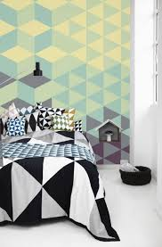 Wall Patterns With Tape Uncategorized Cool Easy Things To Paint Geometric Wall Paint