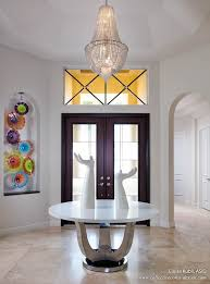 when entering the home visitors are greeted by a spacious well lit