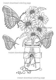 Small Picture 13 best Ballmason jar coloring pages images on Pinterest