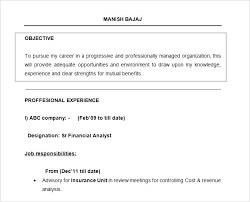 Examples Of A Resume Objective Classic Dark Blue General Resume ...
