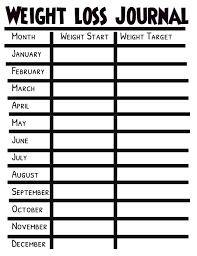 Weight Loss Journal Template Postermywall